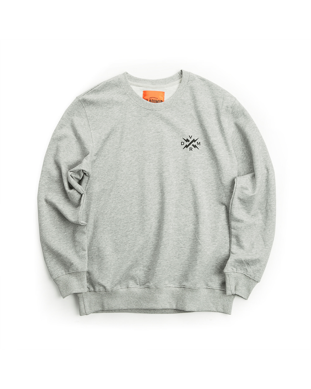 SWEAT SHIRT MELANGE GRAY