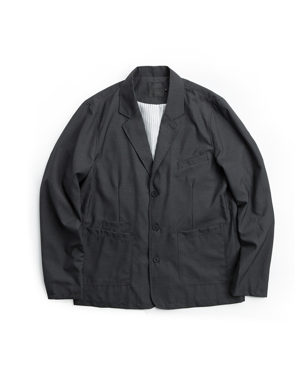 REGULAR FORMAL JACKET DARK GRAY