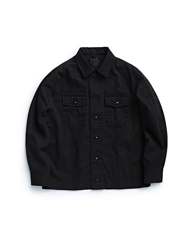 107 FIELD JACKET BLACK