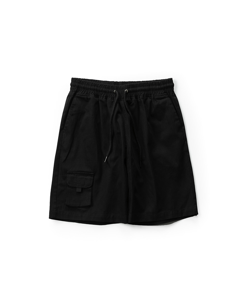 ANOTHER POCKET HALF PANTS BLACK