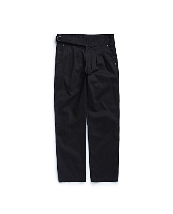 SIDEFIX GURKHA PANTS BLACK