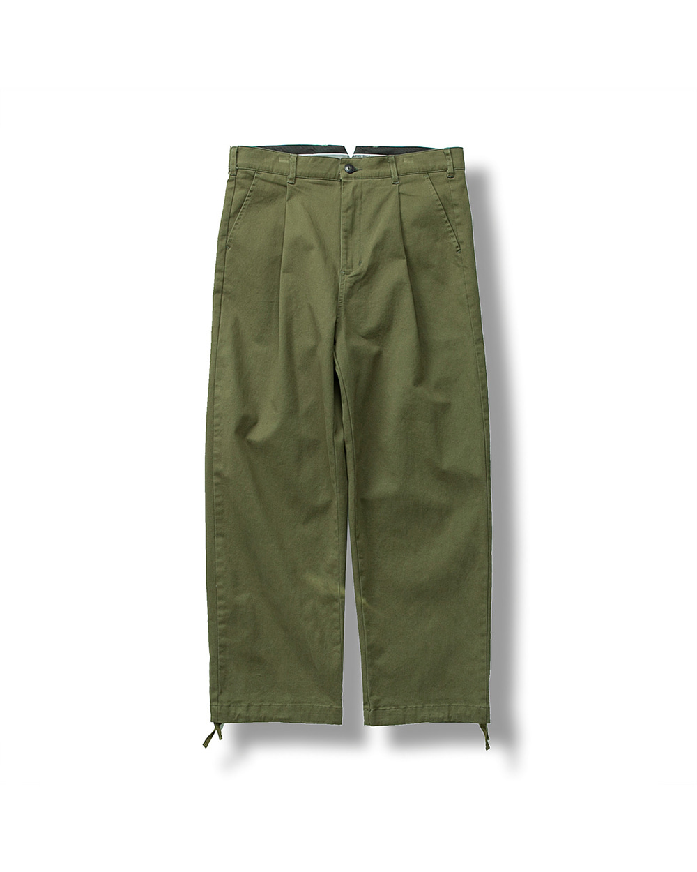 WIDEFIT CHINO PANTS OLIVE