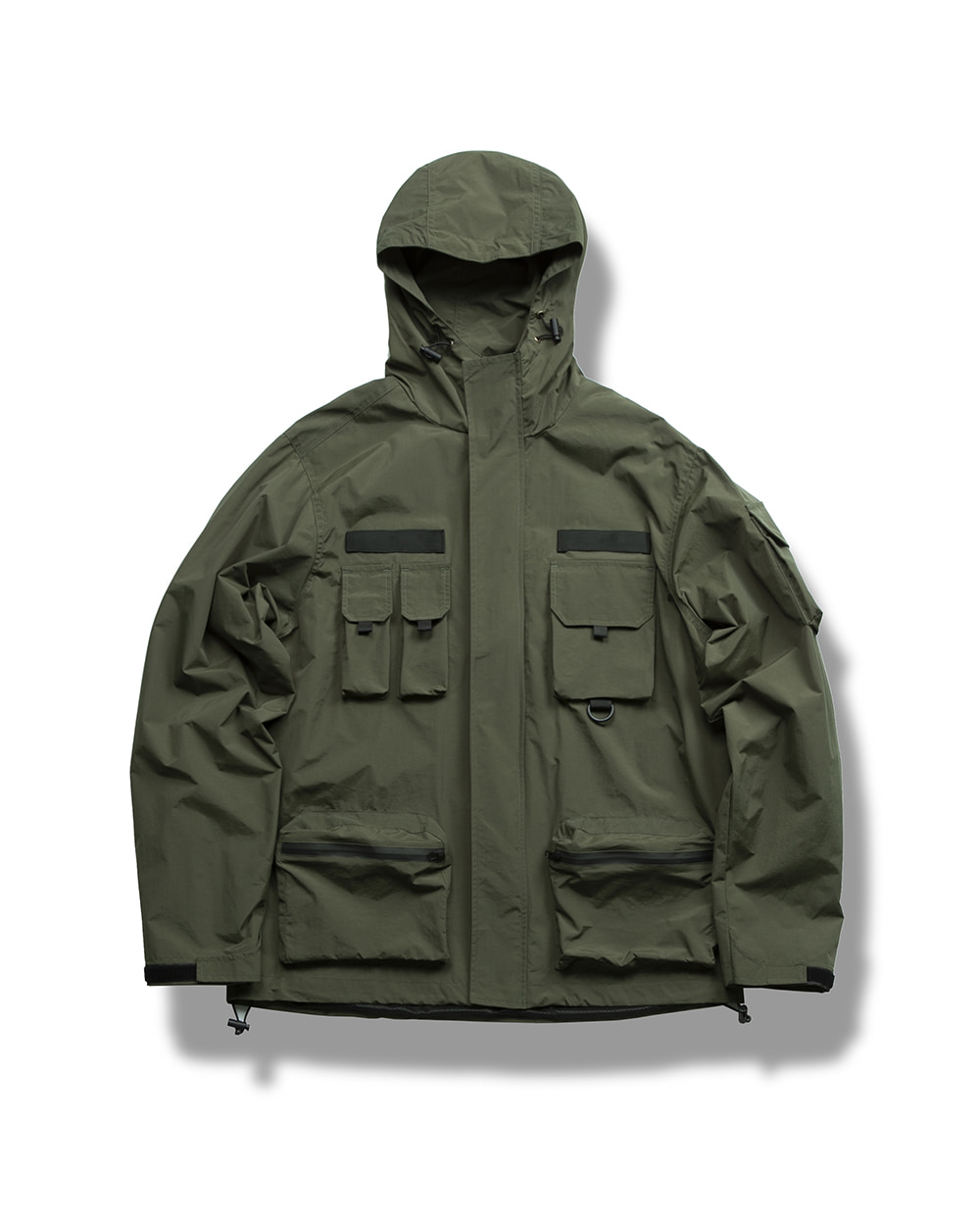 WATERPROOF WIND JACKET OLIVE