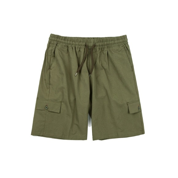 MULTI POCKET BANDING PANTS KHAKI
