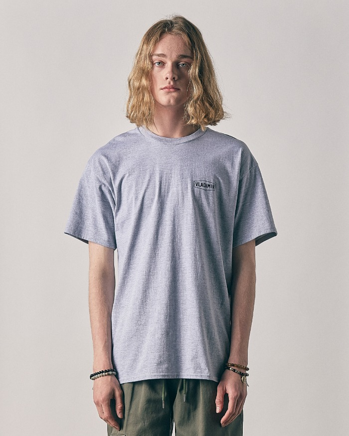 HEXAGON T-SHIRTS MELANGE GRAY