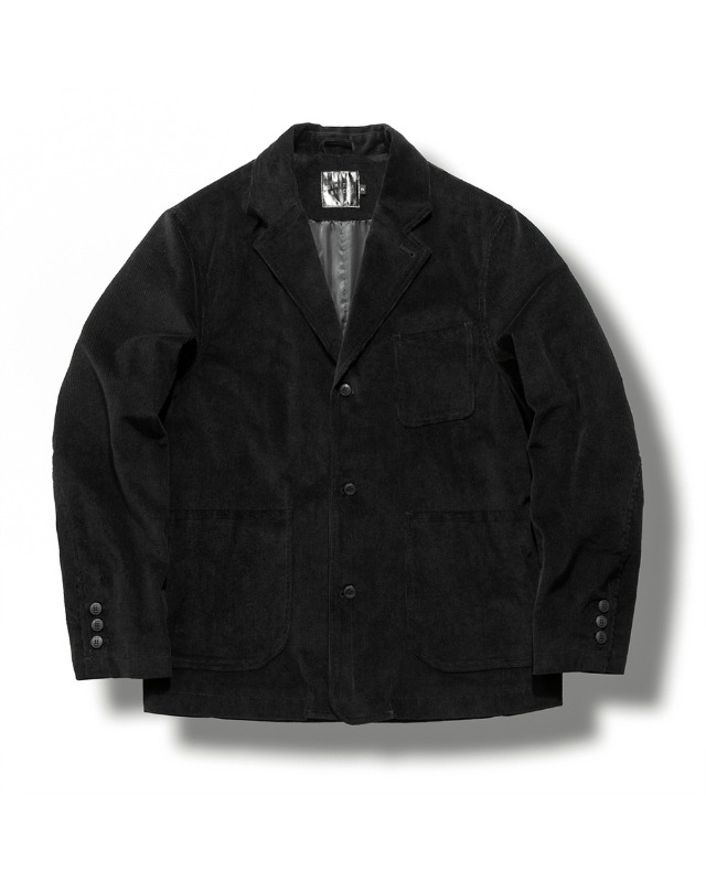 CORDUROY DAILY JACKET BLACK